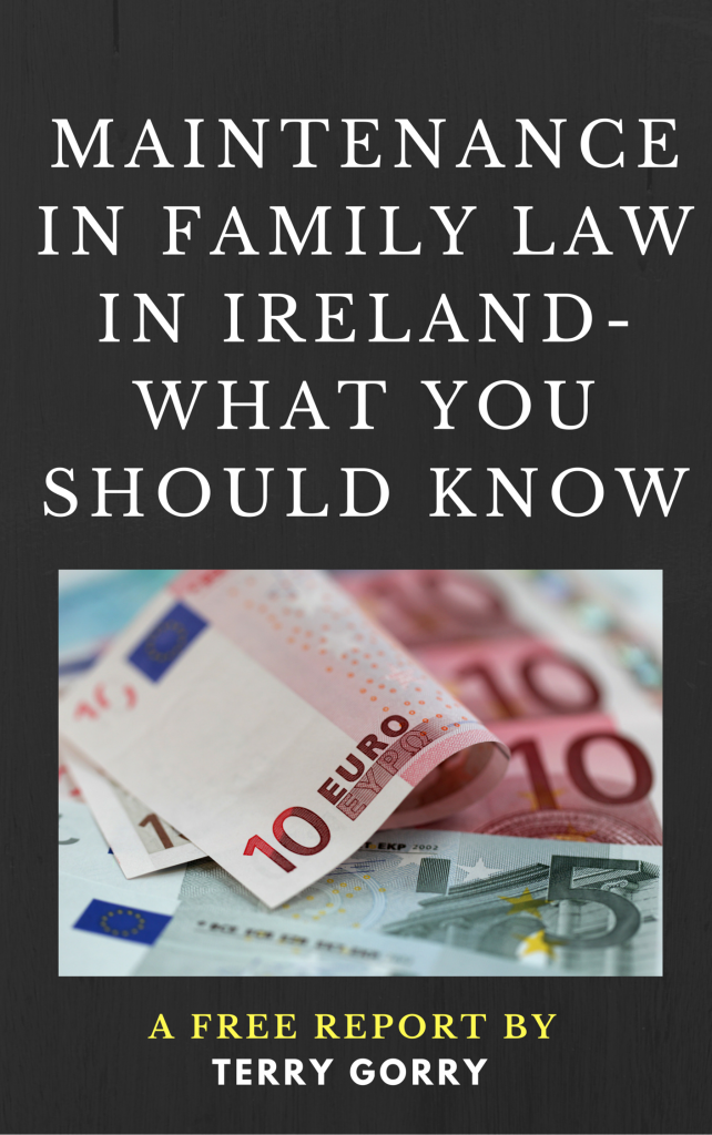 maintenance in family law in ireland-free report