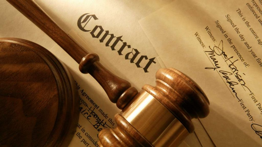 contract law in ireland