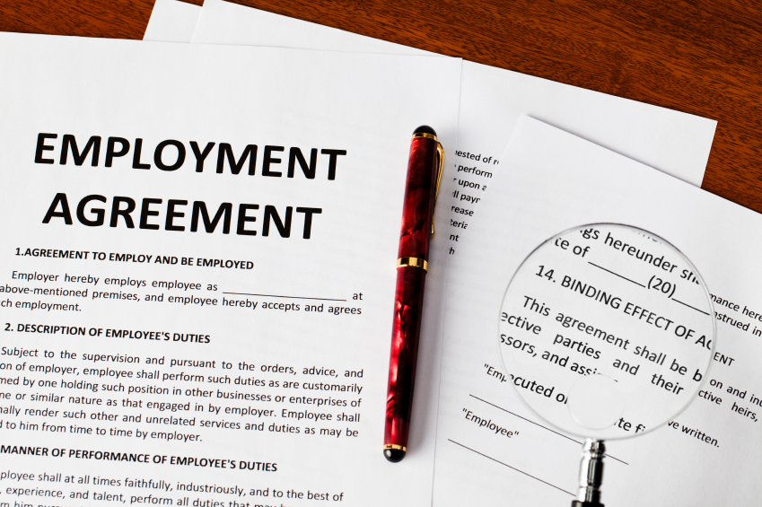 employment contract ireland