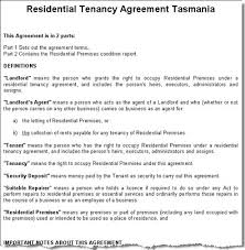 Residential Letting Agreement Template  Landlord Agreement Template